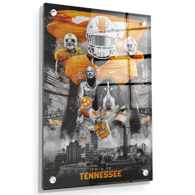 Tennessee Volunteers - This is Tennessee - College Wall Art #Acrylic