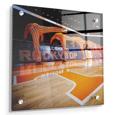 Tennessee Volunteers - Welcome to Rocky Top Basketball - College Wall Art #Acrylic