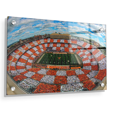 Checkerboard Neyland - College Wall Art #Acrylic