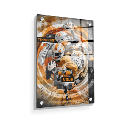 Tennessee Volunteers - Football Time - College Wall Art #Acrylic