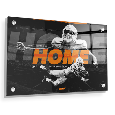 Tennessee Volunteers - Home - College Wall Art #Acrylic