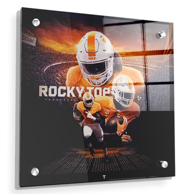 Tennessee Volunteers - Rocky Top Sunset - College Wall Art #Acrylic