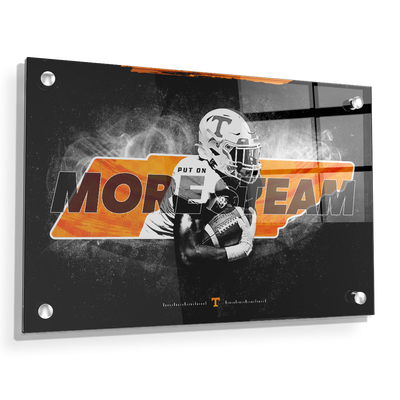 Tennessee Volunteers - More Steam - College Wall Art #Acrylic