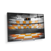 Tennessee Volunteers - Checkerboard Neyland - College Wall Art #Acrylic Mini