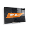 Tennessee Volunteers - My All - College Wall Art #Acrylic Mini