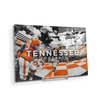 Tennessee Volunteers - Running Through the T Nike - College Wall Art #Acrylic Mini