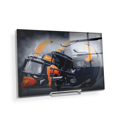 Tennessee Volunteers - Smokey Gray Helmets - College Wall Art #Desktop Mini