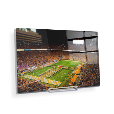Tennessee Volunteers - Running Through the T 2015 - College Wall Art #Desktop Mini