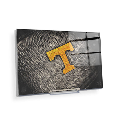 Tennessee Volunteers - Power T Football - College Wall Art #Acrylic Mini