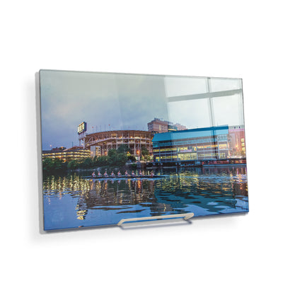 Tennessee Volunteers - Morning Row by Neyland - College Wall Art #Acrylic Mini