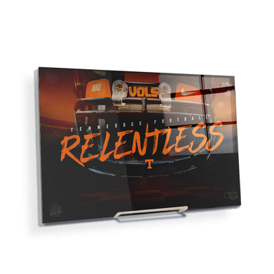 Tennessee Volunteers - Relentless - College Wall Art #Acrylic Mini