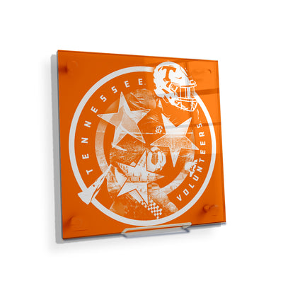 Tennessee Volunteers - Tennessee Volunteers - College Wall Art #Acrylic Mini