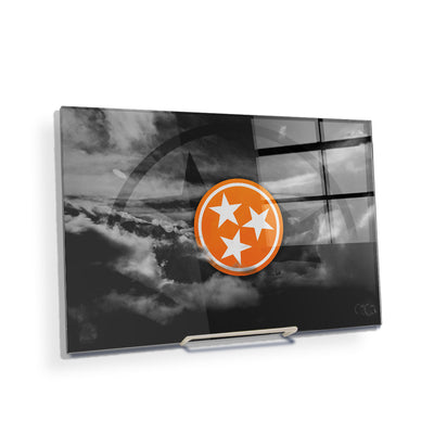 Tennessee Volunteers - Smokey Tri Star - College Wall Art #Acrylic  Mini