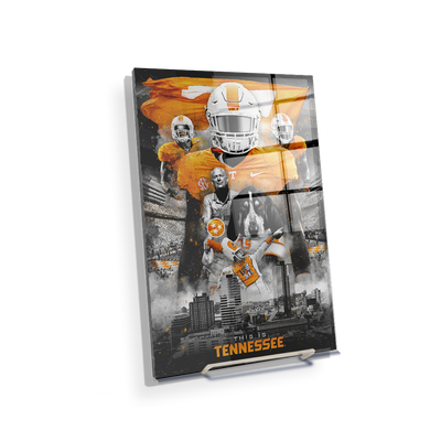 Tennessee Volunteers - This is Tennessee - College Wall Art #Acrylic Mini