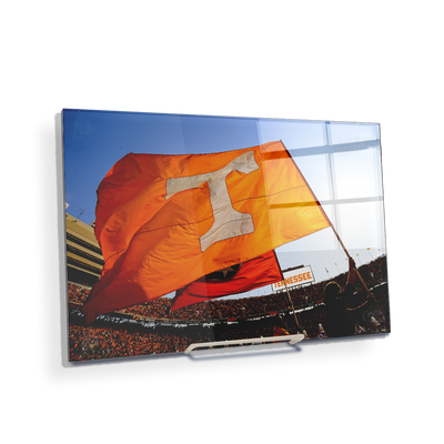 Tennessee Volunteers - T Flags - College Wall Art #Acrylic  Mini