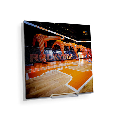 Tennessee Volunteers - Welcome to Rocky Top Basketball - College Wall Art #Acrylic Mini