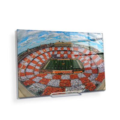 Checkerboard Neyland - College Wall Art #Acrylic Mini