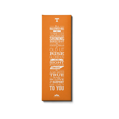 Tennessee Volunteers - Alma Mater Orange - College Wall Art #Canvas
