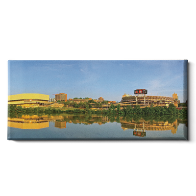 Tennessee Volunteers - Early AM Thompson-Boling Neyland -College Wall Art #Canvas