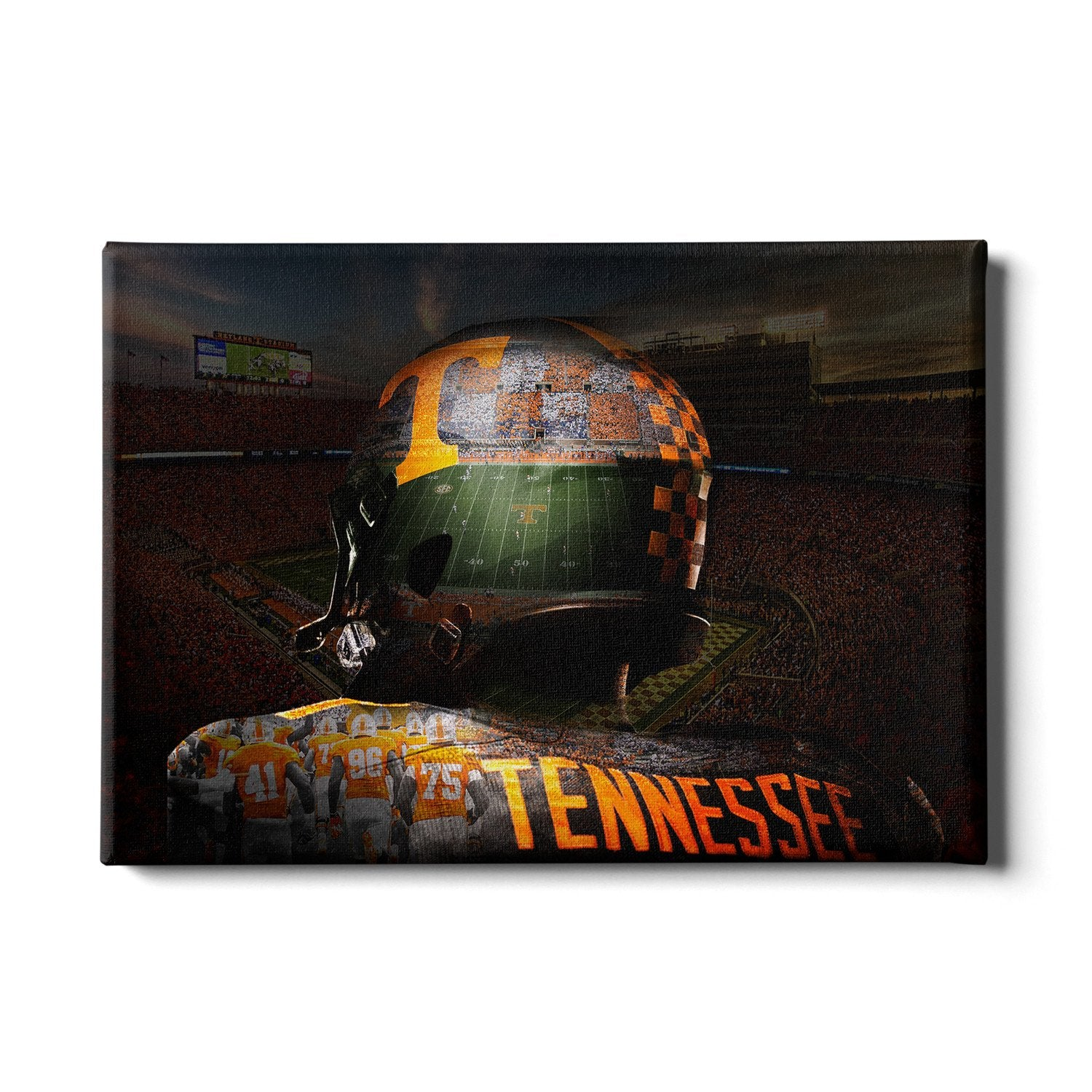 Tennessee Volunteers - TN Football - College Wall Art #Canvas