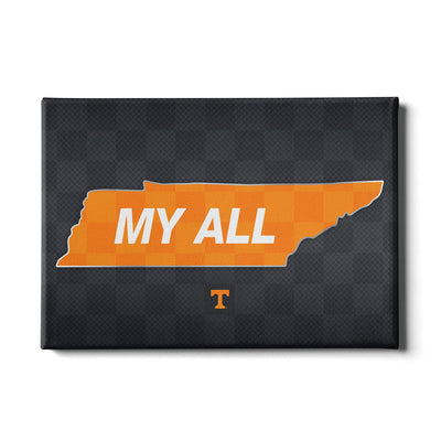 Tennessee Volunteers - My All - College Wall Art #Canvas
