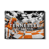 Tennessee Volunteers - Running Through the T Nike - College Wall Art #Canvas