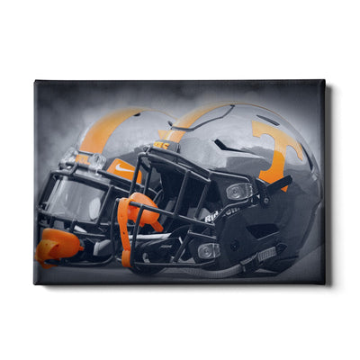 Tennessee Volunteers - Smokey Gray Helmets - College Wall Art #Canvas