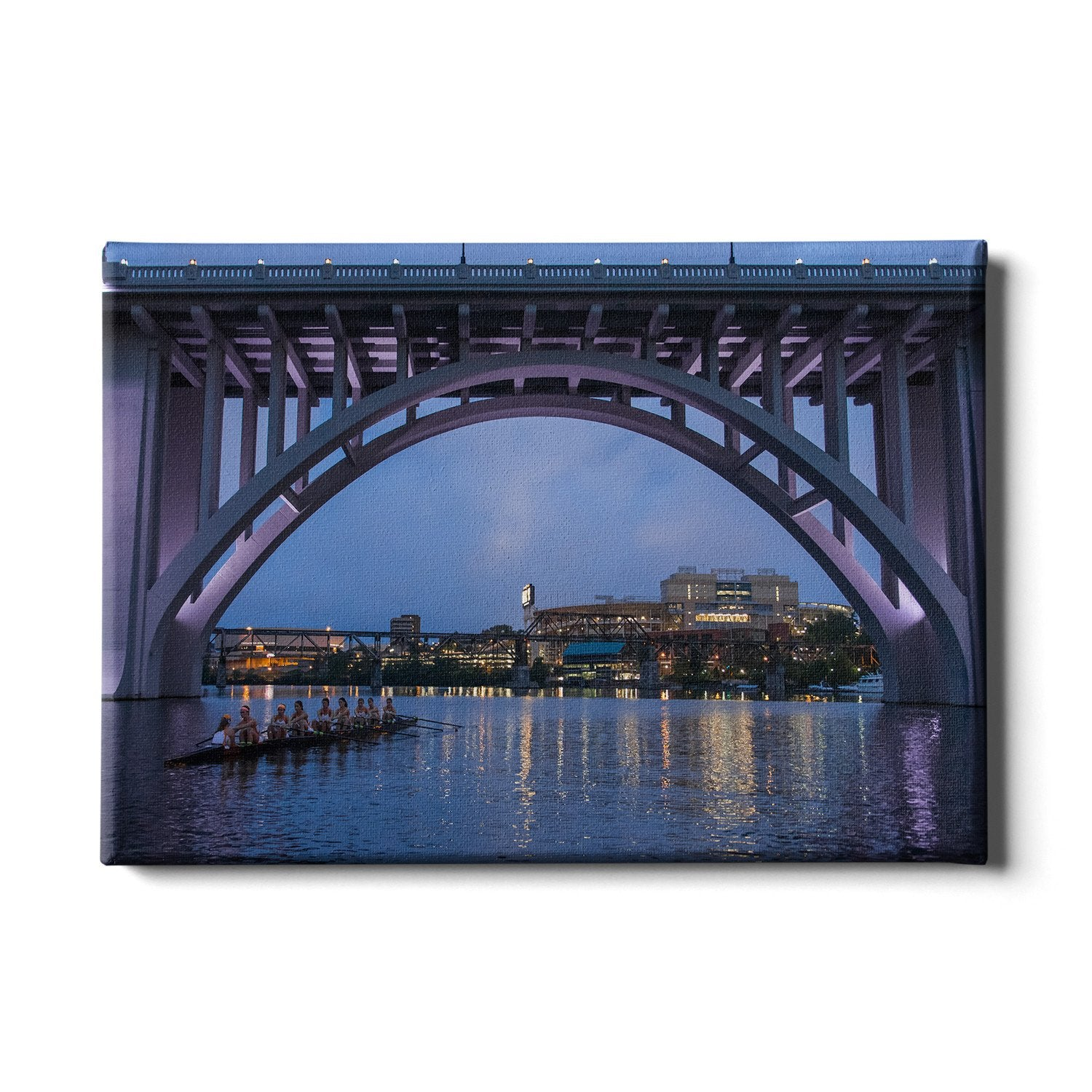 Tennessee Volunteers - Morning Row - College Wall Art #Canvas