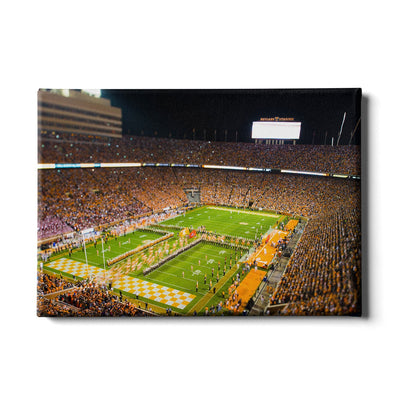 Tennessee Volunteers - Running Through the T 2015 - College Wall Art #Canvas