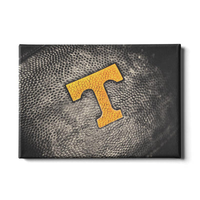 Tennessee Volunteers - Power T Football - College Wall Art #Canvas