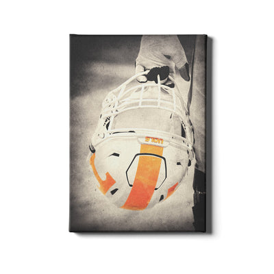 Tennessee Volunteers - Warrior Smokey Orange - College Wall Art #Canvas
