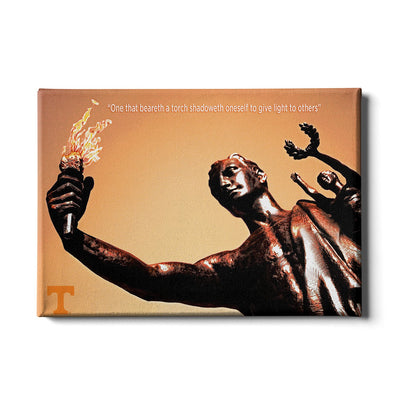 Tennessee Volunteers - Torchbearer 2 - College Wall Art #Canvas