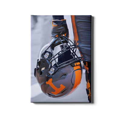 Tennessee Volunteers - Smokey Helmet - College Wall Art #Canvas