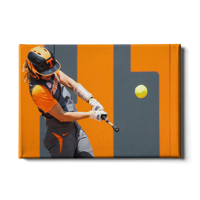 Tennessee Volunteers - Batting Practice - College Wall Art #Canvas