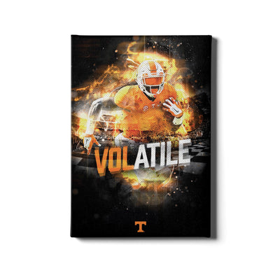 Tennessee Volunteers - Volatile - College Wall Art #Canvas