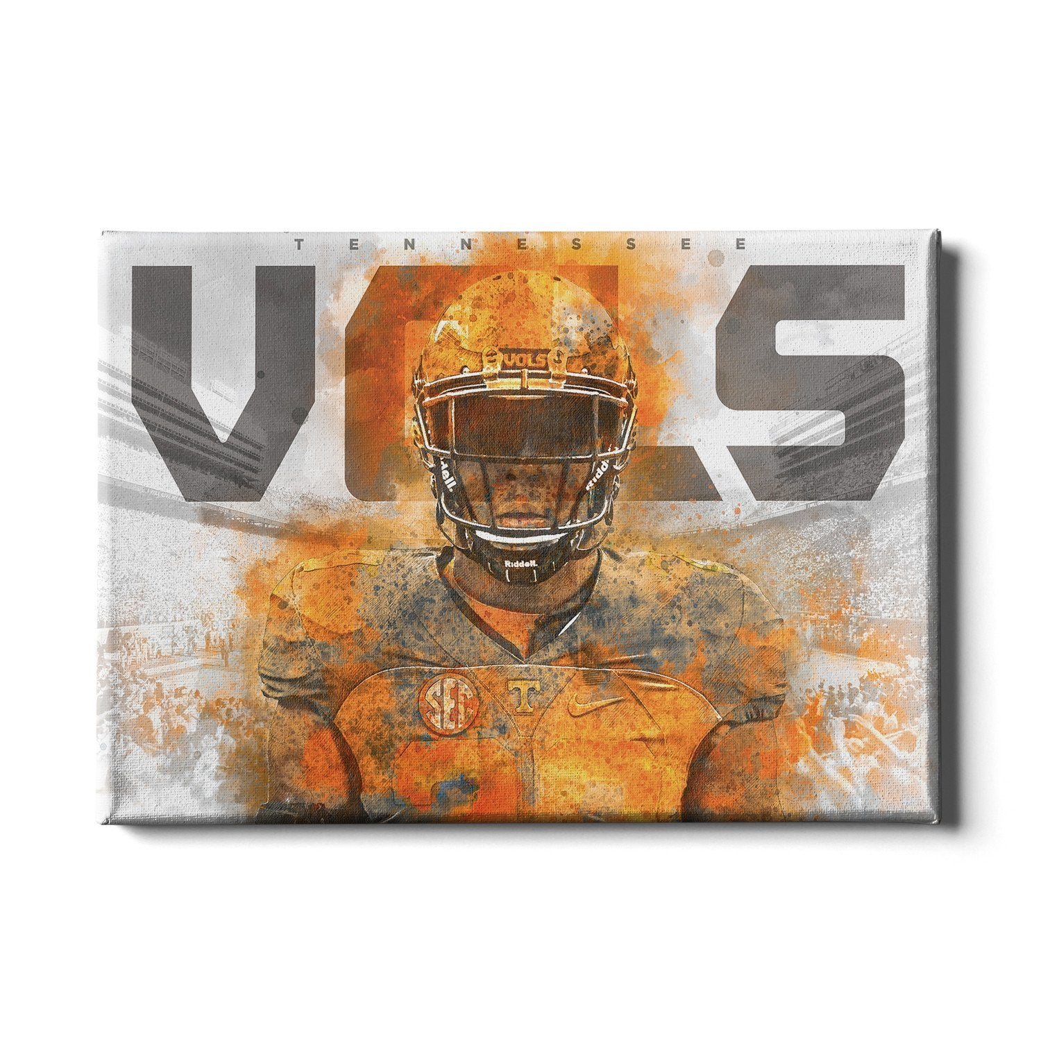 Tennessee Volunteers - Smokey VOLS 2017 - College Wall Art #Canvas