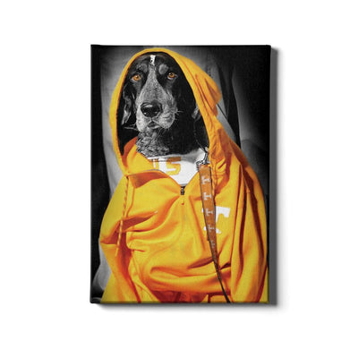 Tennessee Volunteers - Smokey Hood - College Wall Art #Canvas