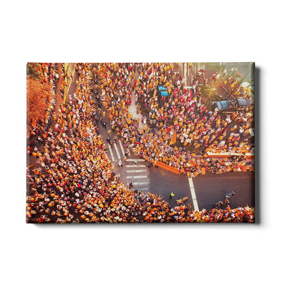 Tennessee Volunteers - Autumn Vol Walk - College Wall Art #Canvas