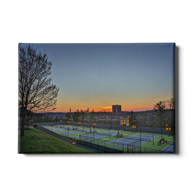 Tennessee Volunteers - Goodfriend Tennis Center - College Wall Art #Canvas
