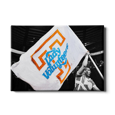 Tennessee Volunteers - Lady Volunteers - College Wall Art #Canvas
