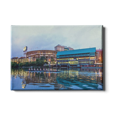 Tennessee Volunteers - Morning Row by Neyland - College Wall Art #Canvas