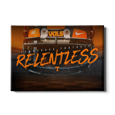 Tennessee Volunteers - Relentless - College Wall Art #Canvas