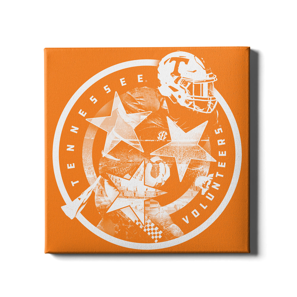 Tennessee Volunteers - Tennessee Volunteers - College Wall Art #Canvas