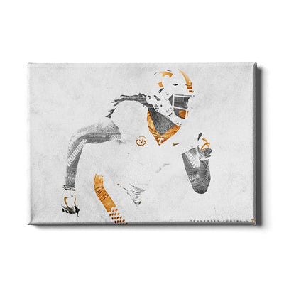 Tennessee Volunteers - Double Exposure T - College Wall Art #Canvas