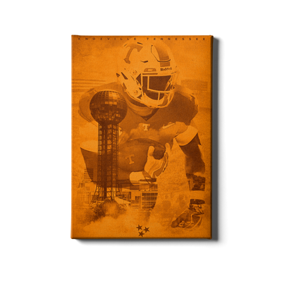 Tennessee Volunteers - Knoxville TN - College Wall Art #Canvas