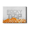 Tennessee Volunteers - On Ole Rocky Top - College Wall Art #Canvas
