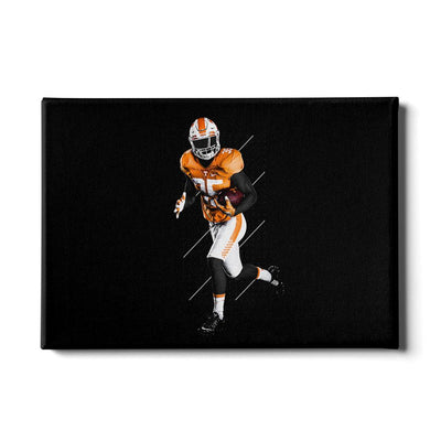 Tennessee Volunteers - Run - College Wall Art #Canvas