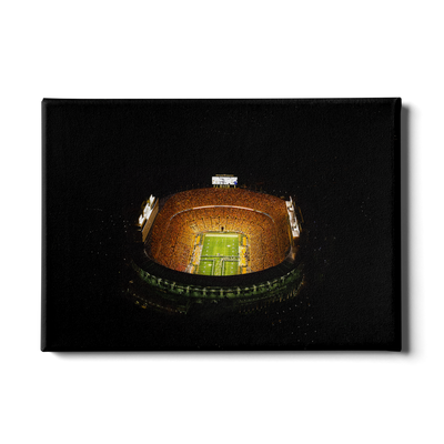 Tennessee Volunteers - Aerial Running Thru the T - College Wall Art #Canvas