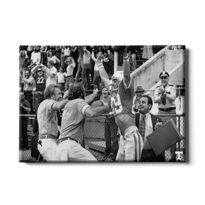 Tennessee Volunteers - Vintage Larry Seivers TD - College Wall Art #Canvas