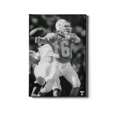 Tennessee Volunteers - Vintage Peyton Manning 2 - College Wall Art #Canvas